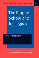 The Prague School and Its Legacy PDF