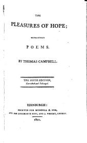 The Pleasures of Hope: With Other Poems