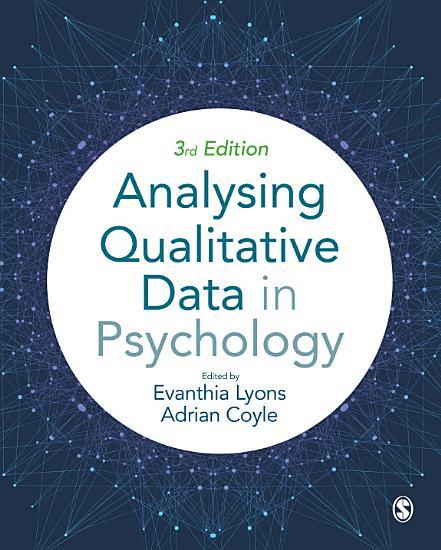 Analysing Qualitative Data in Psychology PDF