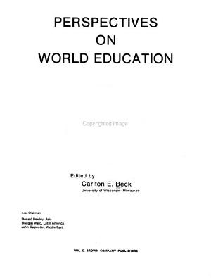 Perspectives on World Education