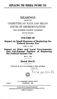 Replacing the Federal Income Tax PDF
