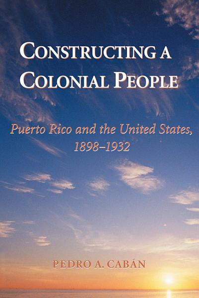 Constructing A Colonial People