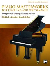 Piano Masterworks for Teaching and Performance  Volume 2 PDF