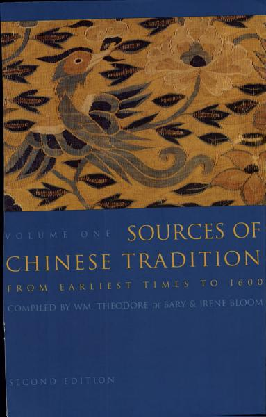 Sources of Chinese Tradition PDF