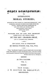 Gesta Romanorum, Or, Entertaining Moral Stories ...