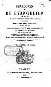 Sermoonen op de evangelien van alle de zondagen en bezonderste feestdagen van het jaer, en andere kerkelyke plegtigheden: Volume 2