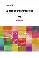 La gestion philanthropique  2e   dition PDF