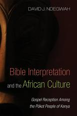 Bible Interpretation and the African Culture PDF
