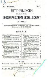 Mitteilungen: Band 38