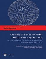 Creating Evidence for Better Health Financing Decisions PDF