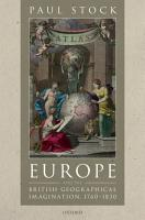 Europe and the British Geographical Imagination  1760 1830 PDF