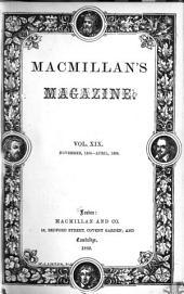 MacMillan's Magazine: Volume 19