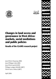 Changes In Land Access And Governance In West Africa