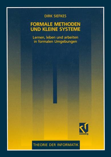 Formale Methoden und kleine Systeme PDF