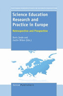 Science Education Research and Practice in Europe PDF