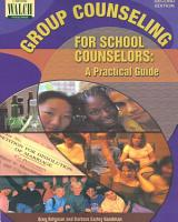 Group Counseling for School Counselors PDF
