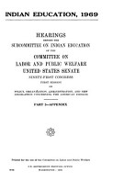 Indian Education  1969  Appendix PDF