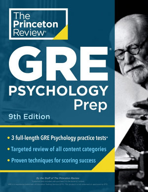 Princeton Review GRE Psychology Prep  9th Edition