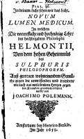 Novum lumen medicum PDF