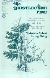 The Bristlecone pine: nature's oldest living thing