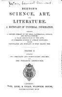 Beeton s Science  Art  and Literature PDF