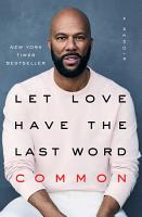 Let Love Have the Last Word PDF