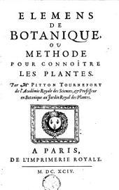 Élémens de botanique: ou Méthode pour connoître les plantes, Volume1