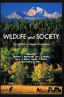 Wildlife and Society PDF