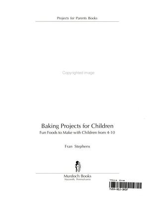 Baking Projects for Children PDF