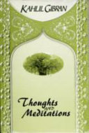 Thoughts and Meditations PDF
