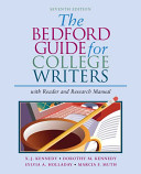 The Bedford Guide for College Writers
