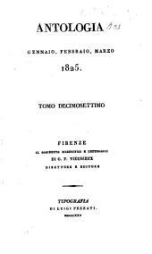 Antologia; giornale di scienze, lettere e arti: Volume 17