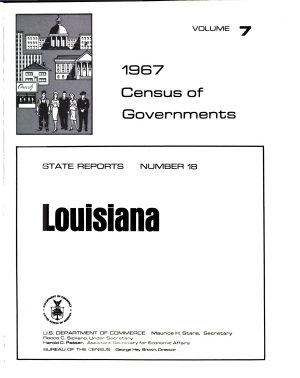 1967 Census of Governments  Government finances  no  1  Finances of school districts  no  2  Finances of special districts  no  3  Finances of county governments  no  4  Finances of municipalities and township governments  no  5  Compendium of government finances PDF