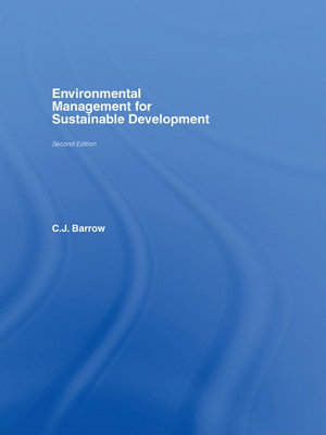 Environmental Management for Sustainable Development PDF