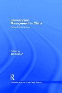 International Management in China