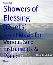 Showers of Blessing (Duets): Sheet Music for Various Solo Instruments & Piano