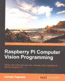 Raspberry Pi Computer Vision Programming PDF
