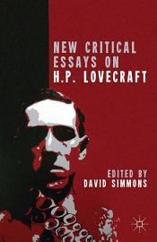 New Critical Essays On H P  Lovecraft