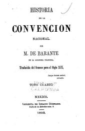 Historias de la Convencion nacional: Volumen 4
