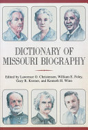 Dictionary Of Missouri Biography Book PDF
