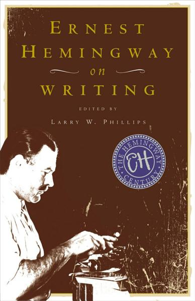 Download Ernest Hemingway on Writing Book