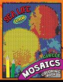 Sea Life Square Mosaics Coloring Book