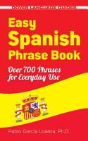 Easy Spanish Phrase Book NEW EDITION PDF