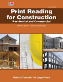 Print Reading for Construction Book