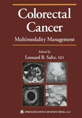 Colorectal Cancer: Multimodality Management