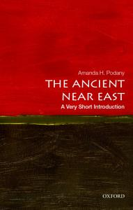 The Ancient Near East  A Very Short Introduction PDF