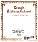 Gundel s Hungarian Cookbook