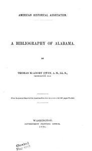 A Bibliography of Alabama PDF