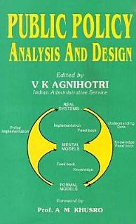 Public Policy Analysis and Design Book
