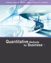 Quantitative Methods for Business: Edition 13